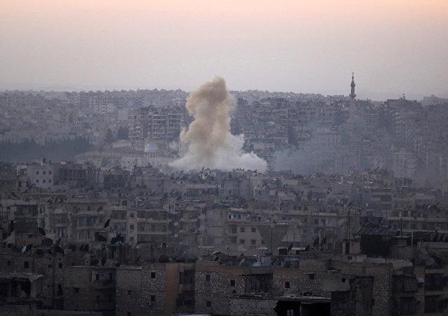 Situación en Siria, Alepo