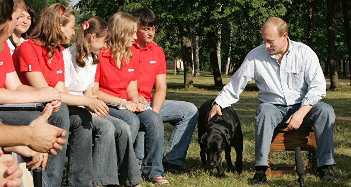Vladímir Putin y sus mascotas