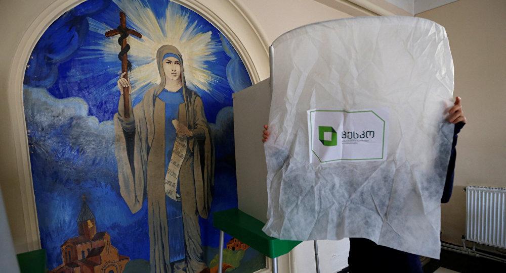 Preparación de las elecciones en Tiflis