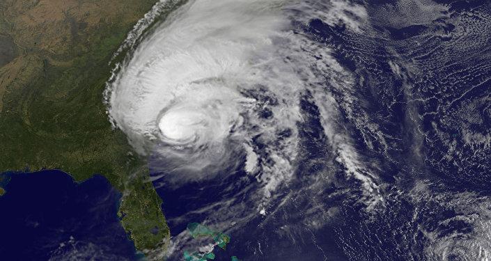 Impactante: el huracán Matthew visto desde el espacio