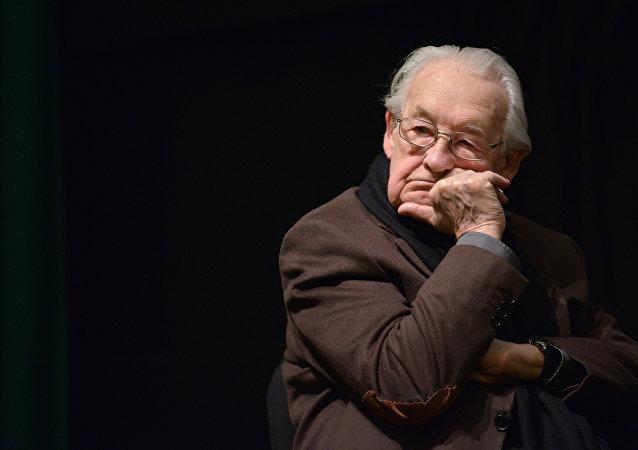 El cineasta polaco Andrzej Wajda
