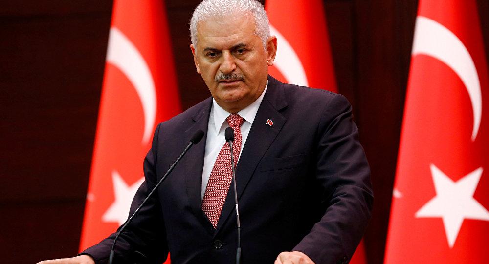 Binali Yildirim, presidente del Parlamento turco (archivo)
