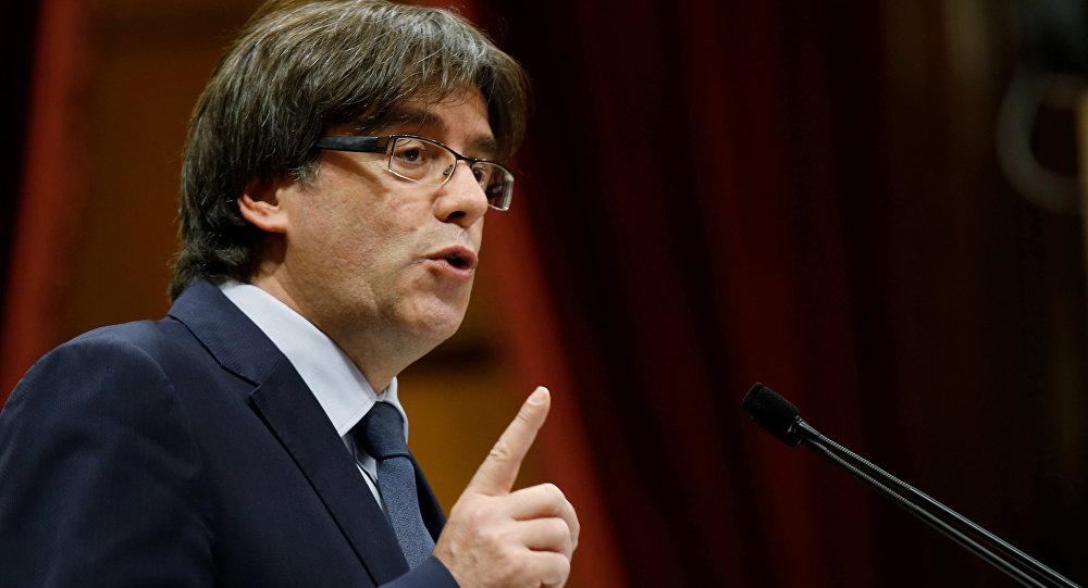 Carles Puigdemont, presidente cesado de Cataluña