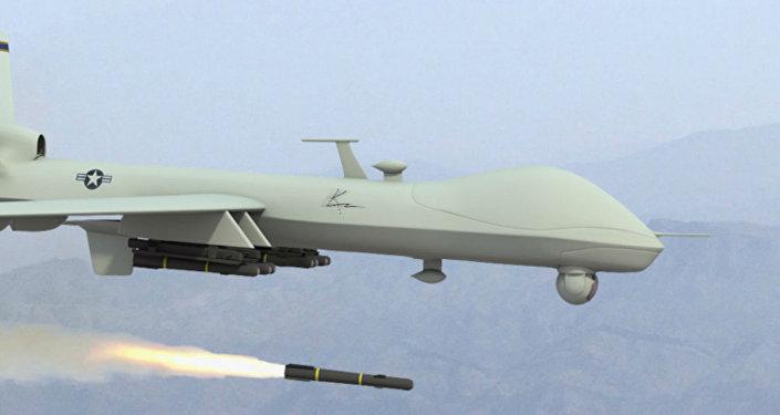 Dron estadounidense (imagen referencial)