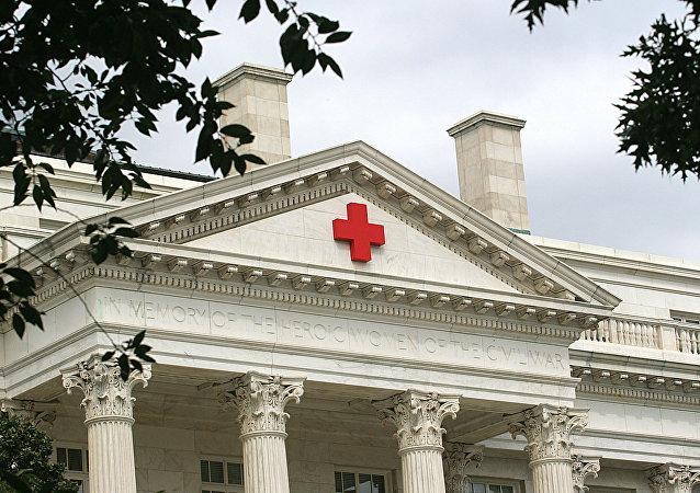 El edificio de la Cruz Roja Americana en Washington, EEUU