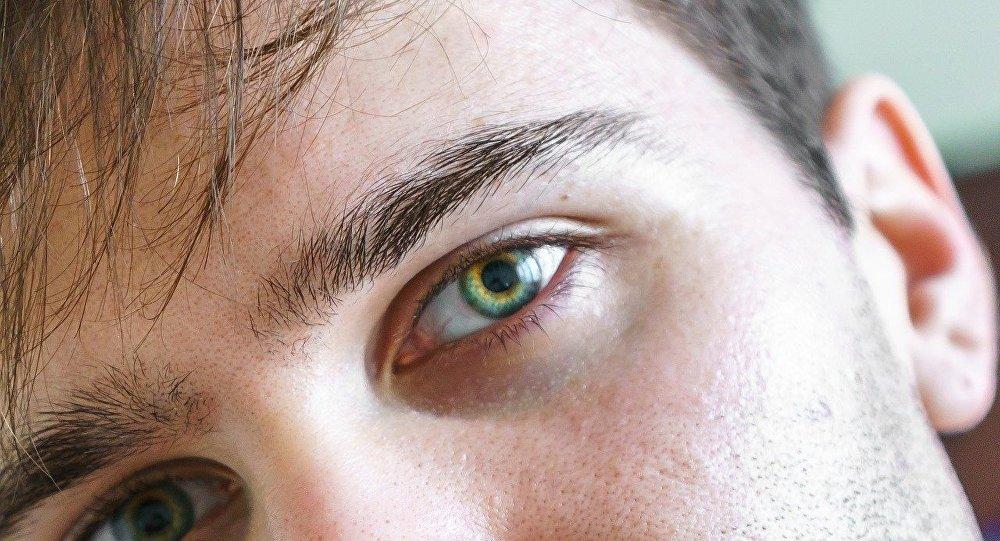 Ojos de un hombre