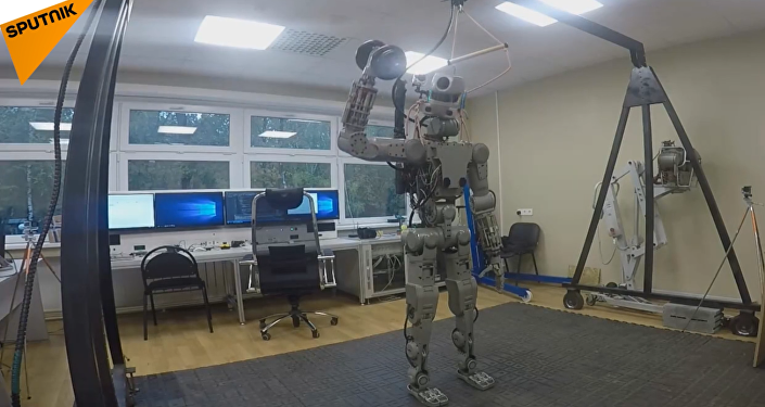 Nuevo robot androide Fedor
