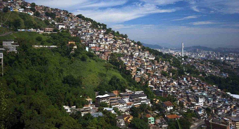 Una favela en Río de Janeiro (archivo)