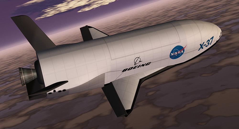 El Boeing X-37 (ilustración)