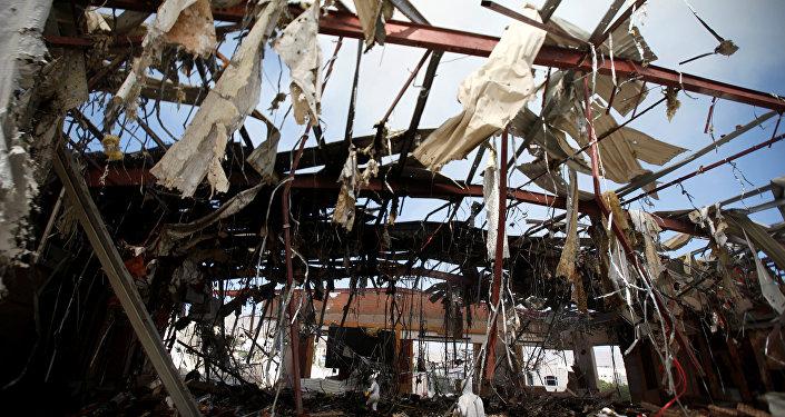 Ataque aéro en Yemen