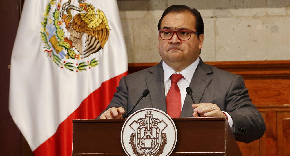 Javier Duarte, gobernador de Velacruz