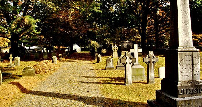 Un cementerio