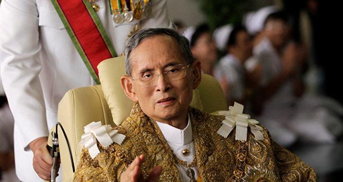 Bhumibol Adulyadej, el rey de Tailandia