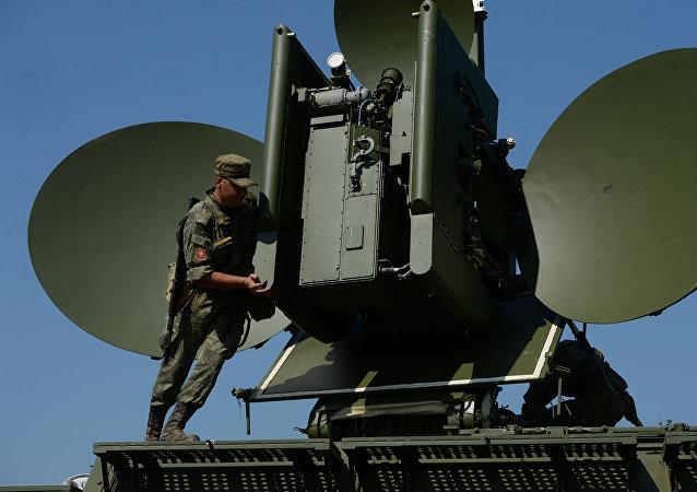 Un sistema radioelectrónico ruso