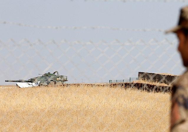Las fuerzas turcas cerca de Mosul, Irak