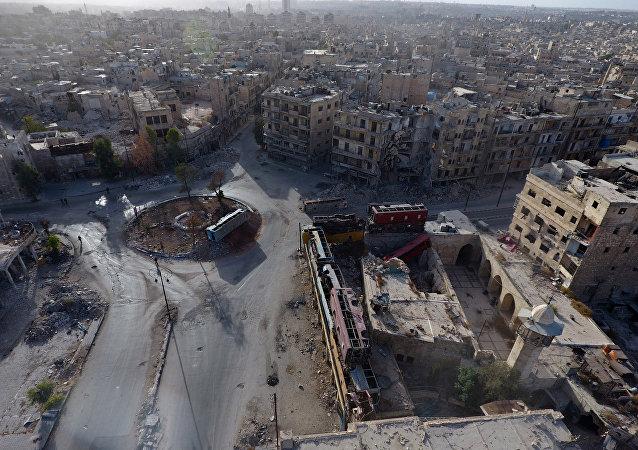 Tres oficiales rusos heridos en Alepo