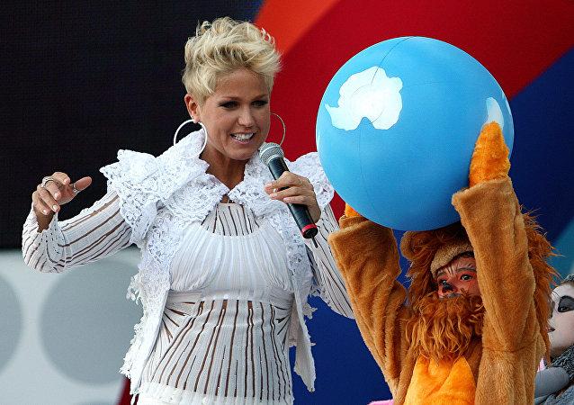 Xuxa, cantante brasileña