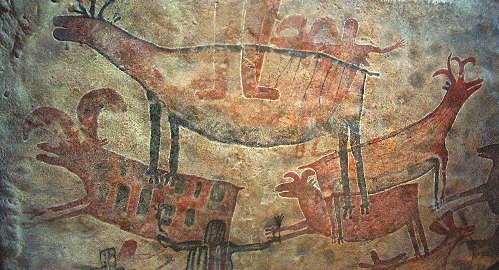 Pintura rupestre (archivo)