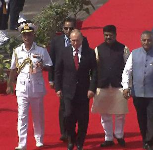 Putin asiste a la 8ª cumbre de los BRICS en la India