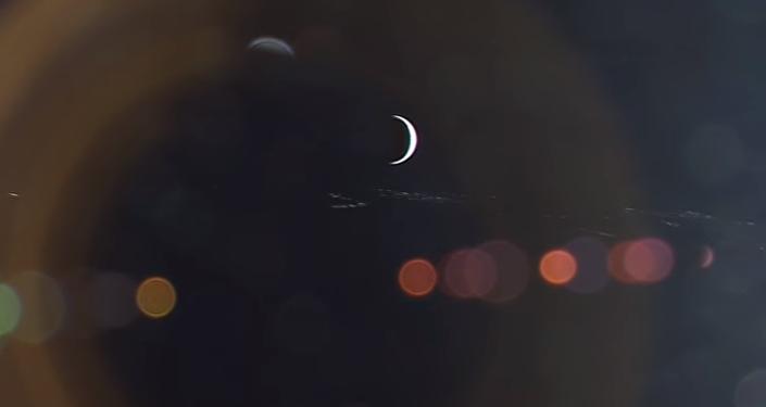 Impresionante: así amanece la Tierra vista desde la Luna