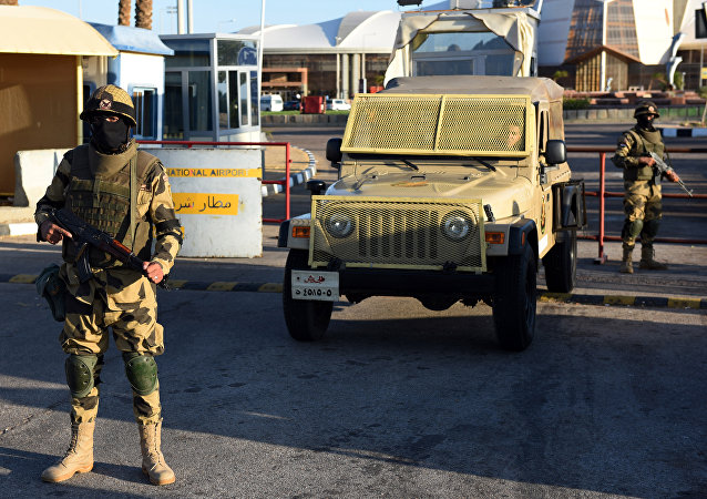 Militares egipcios (archivo)