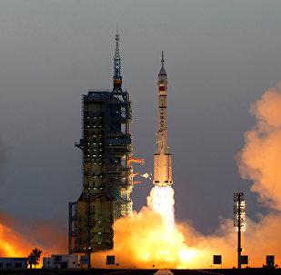 Un lanzamiento desde el centro espacial chino de Jiuquan (archivo)