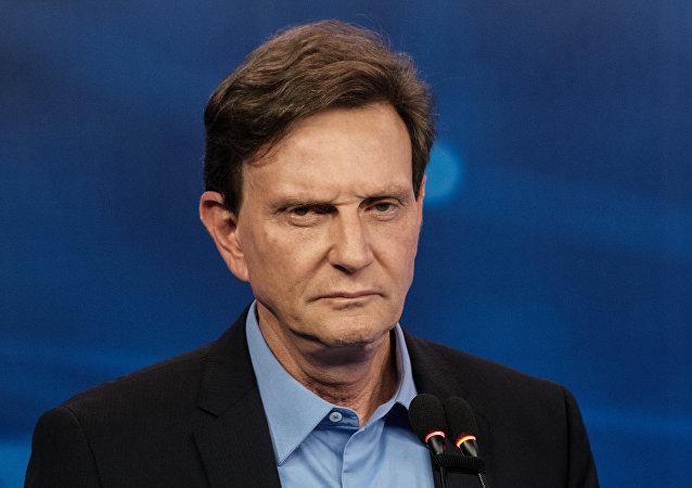 Marcelo Crivella, alcalde de Río de Janeiro