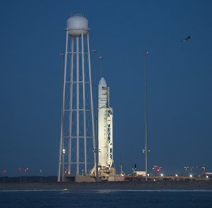 Cohete estadounidense Antares (archivo)