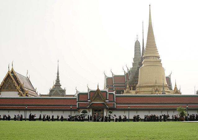 El Gran Palacio Real de Bangkok, Tailandia