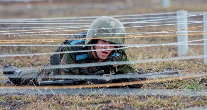 Un militar ruso en Siberia, Rusia (archivo)