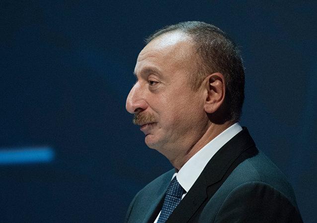 Iljam Alíev, el presidente de Azerbaiyán