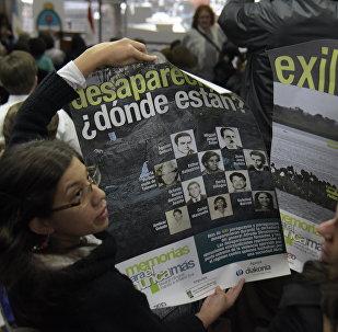 Familares de las victimas de la Operación Cóndor (archivo)