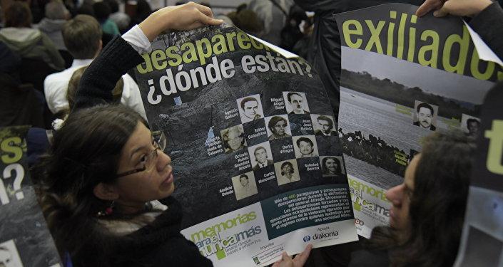 Familares de las víctimas de la Operación Cóndor (archivo)