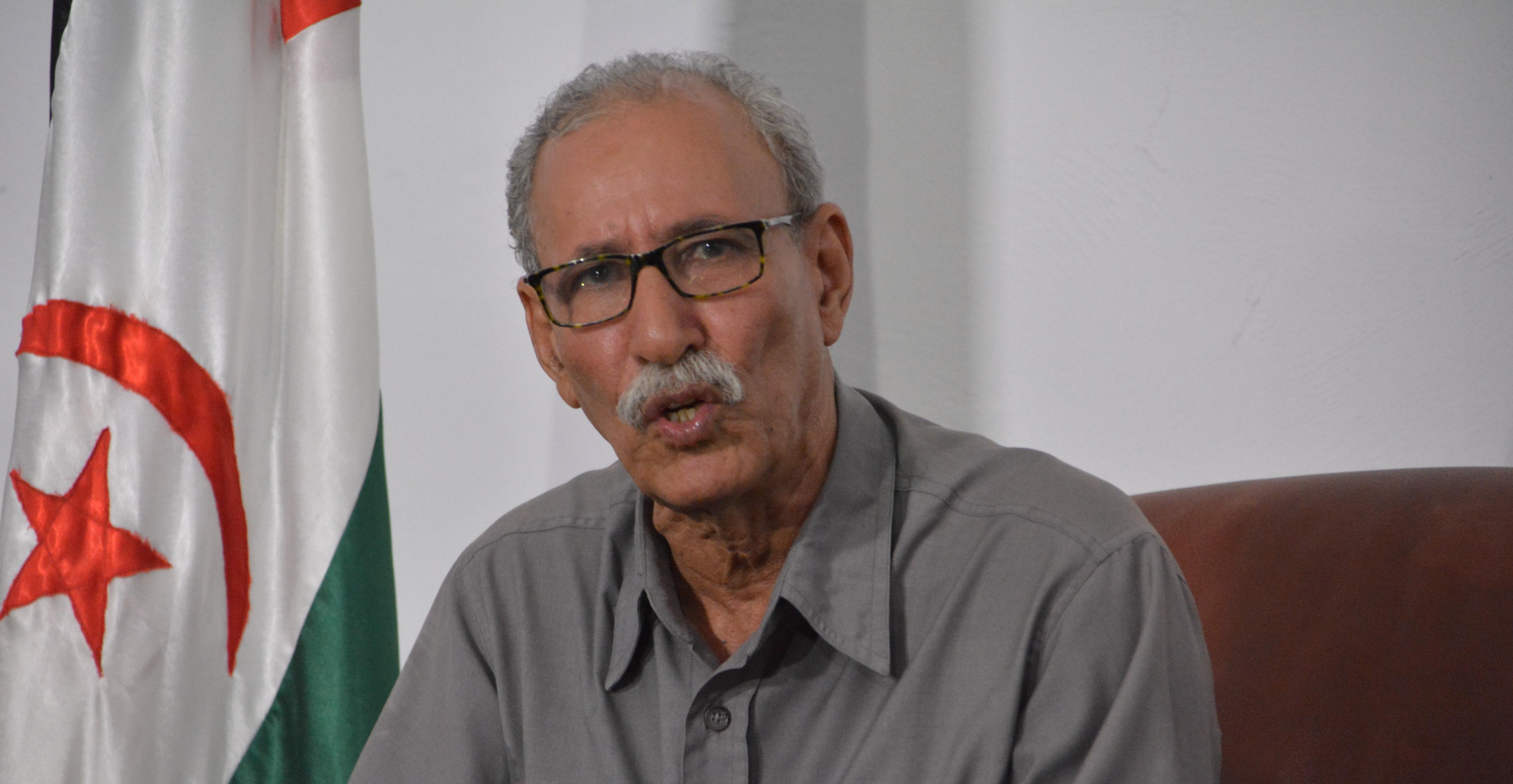 Brahim Ghali, presidente de la República Árabe Saharaui Democrática