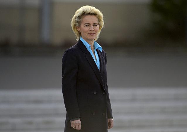 Ministra de defensa de Alemania Ursula von der Leyen