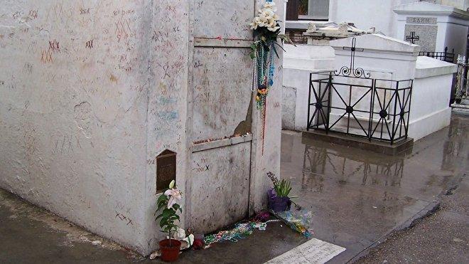 La tumba de Marie Laveau, la puerta a Guinee