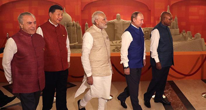 Líderes de las naciones BRICS