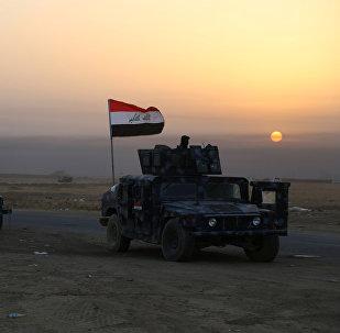 Las fuerzas de seguridad de Irak