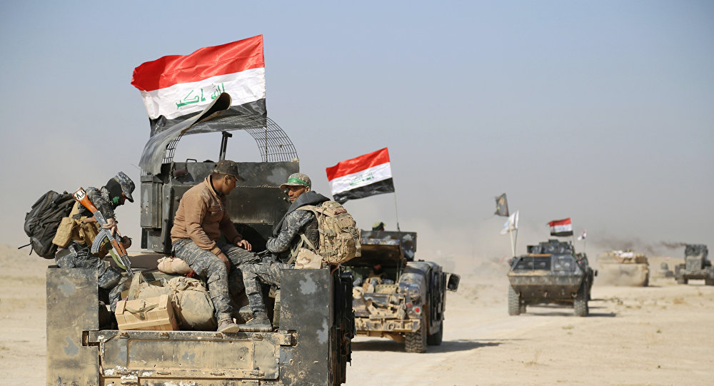 Militares de Irak (archivo)