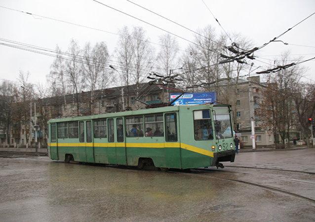 Un tranvía