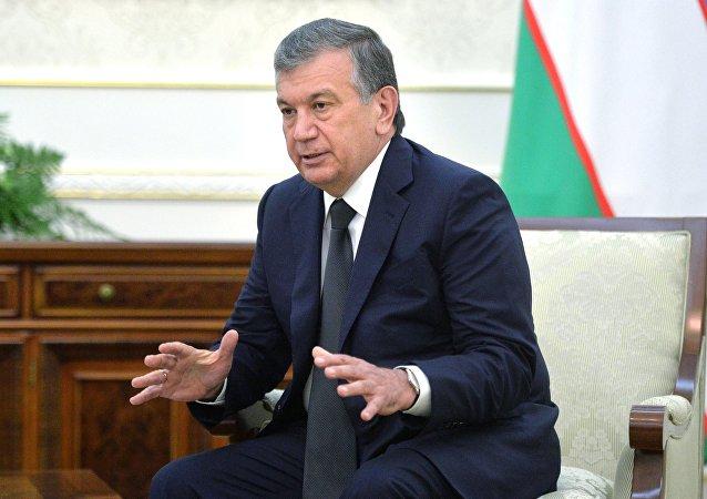 Shavkat Mirziyóyev