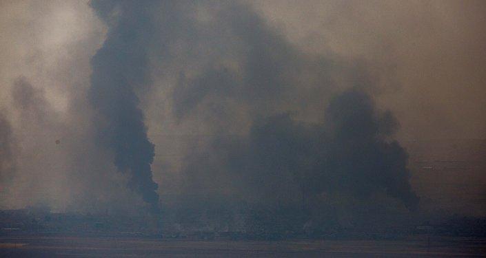 La situación en Mosul, Irak