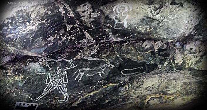 Descubren imágenes sorprendentes en cuevas de México