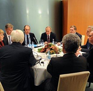 Cumbre del Cuarteto de Normandía en Berlín (archivo)