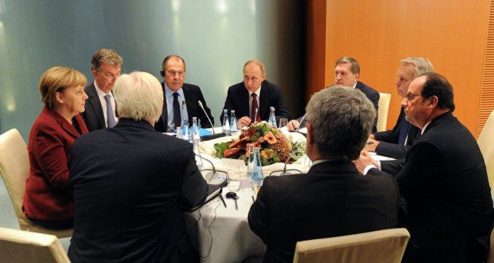 Cumbre del Cuarteto de Normandía en Berlín