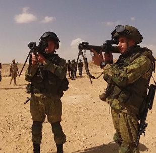 Terroristas sin posibilidades: Impresionante vídeo de simulacros antiterroristas conjuntos de Rusia y Egipto