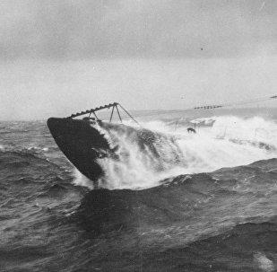 Submarino alemán de la I Guerra Mundial