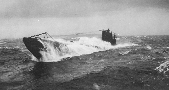Submarino alemán (Archivo)