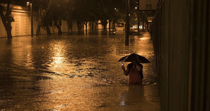 Inundaciones en Brasil (archivo)