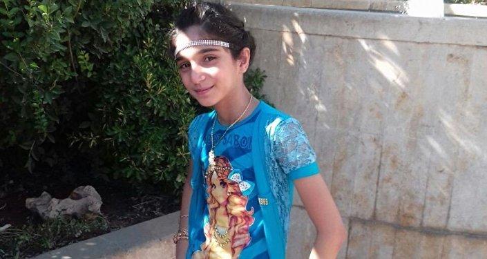 Ahd Al-Khaderi antes del incidente Alepo